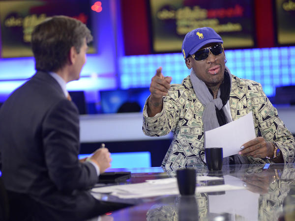 """This Week"" host George Stephanopoulos interviews former NBA star Dennis Rodman, just back from a visit to North Korea."