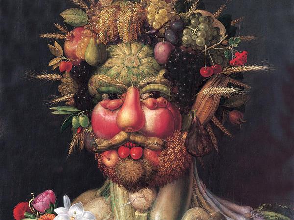 <em>Vertumnus</em>, Arcimboldo's portrait of Emperor Rudolph II