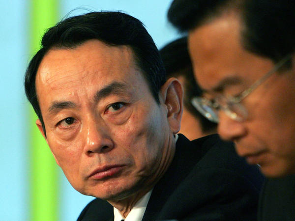 Jiang Jiemin, left, is the latest Chinese official to come under scrutiny for possible corruption.