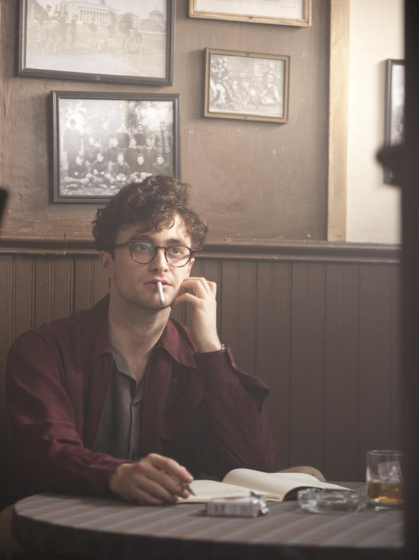 Radcliffe plays Allen Ginsberg in the new film <em>Kill Your Darlings</em>, about Ginsberg's friendship with Jack Kerouac — and his entanglement with literary provocateur Lucien Carr.