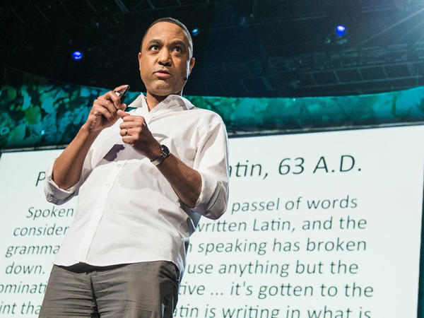 Linguist John McWhorter says there's much more to texting than there seems.