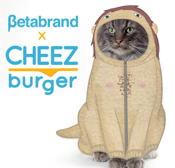 Cheezburger announced its new collaboration with Betabrand on April 1.