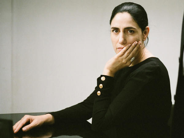 """Ronit Elkabetz co-directed the film and plays the lead role. """"How come a woman's freedom is at the mercy of her husband?"""" she asks."""