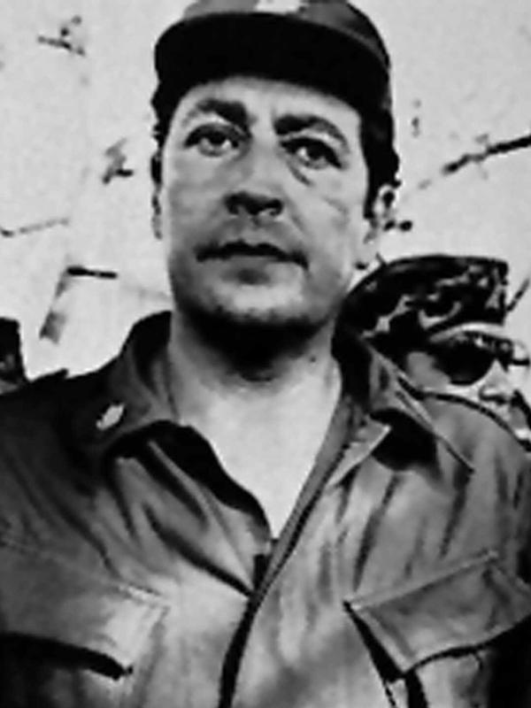 Salvadoran Gen. Carlos Eugenio Vides Casanova, shown in an undated photo, is alleged to have presided over human rights violations in that country, including the murders of four Americans in 1980.