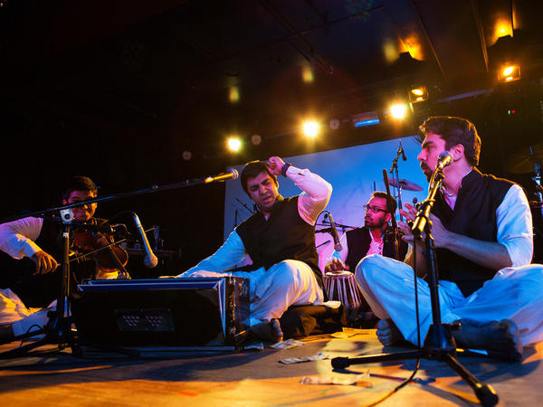 Riyaaz Qawwali performed at New York's globalFEST music festival in January.