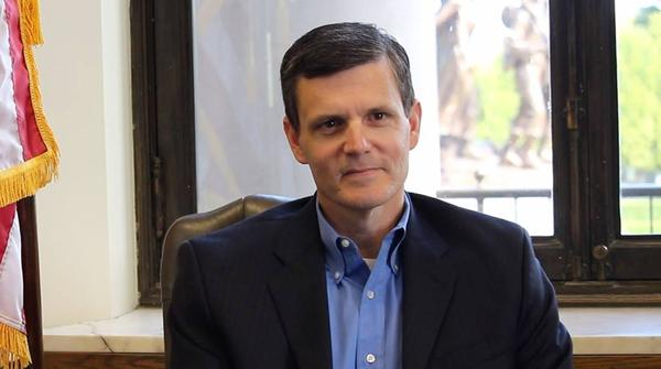 Washington State Auditor Troy Kelley in a photo his office posted to social media January 16, 2015.