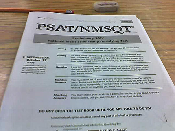 Students taking the PSAT in the fall of 2015 will see a newly designed test. (Sam UL/Flickr Creative Commons)