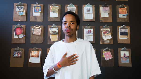 Earl Sweatshirt in Austin, Texas, during SXSW March 21, 2015.