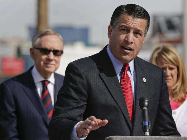 Republicans have been trying to persuade Nevada Gov. Brian Sandoval to jump into the Senate race in 2016. Will he do it now that Reid has stepped aside?
