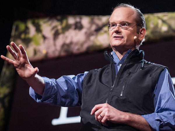 """There is no sensible reform possible until we end this corruption."" —Lawrence Lessig"