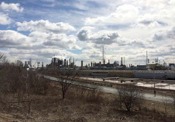 Bayway Refinery in Linden, N.J., is one of two refineries that are involved in the settlement. It's no longer owned by Exxon, but they are on the hook for the cleanup.