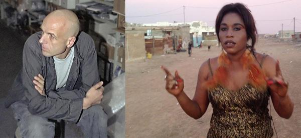 Mark Ernestus and Mbene Diatta Seck of the Ndagga Rhythm Force project.