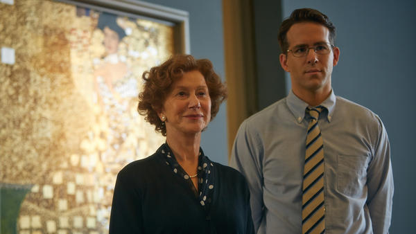 Helen Mirren and Ryan Reynolds star in <em>Woman in Gold.</em>