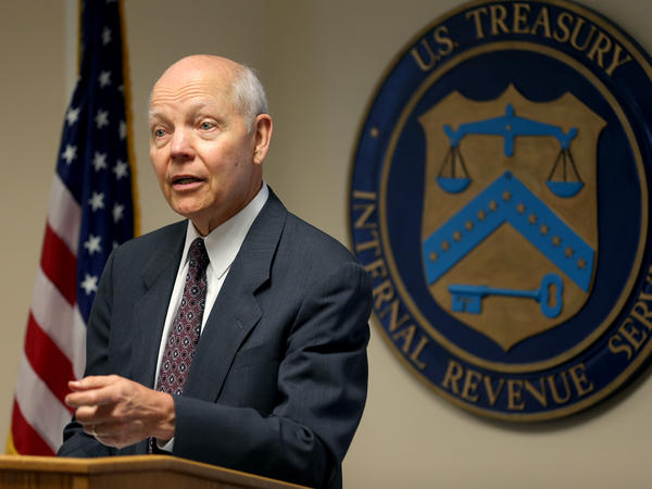 Internal Revenue Service Commissioner John Koskinen, pictured last July, says the IRS uses letters — not phone calls or emails — to contact people.
