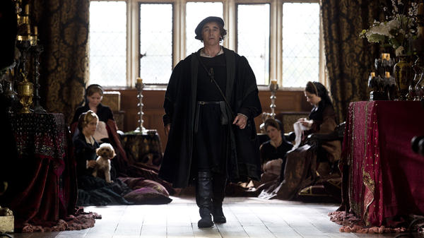 Mark Rylance as Thomas Cromwell in Masterpiece's <em>Wolf Hall</em>.