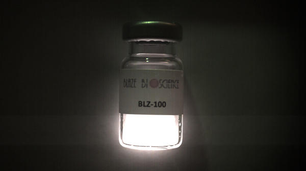 "Blaze Bioscience is commercially developing the ""paint,"" which glows when exposed to near-infrared light."