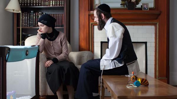 Hadas Yaron and Luzer Twersky in <em>Felix and Meira</em>.