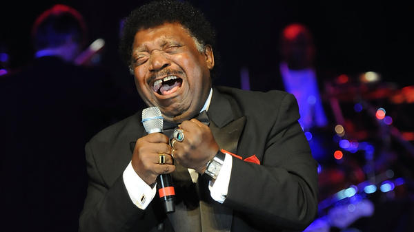 Percy Sledge performs in Montgomery, Ala., in 2010.