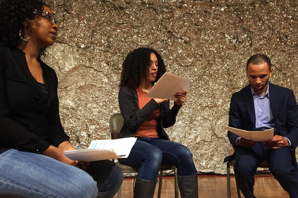 In <em>Blue-Eyed Black Boy</em>, Lattimore, Nyoka and Jones play characters who try to stop the lynching of a young black man, after he's put in jail for brushing up against a white woman on the street.