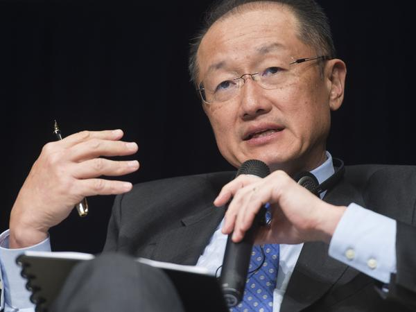 Dr. Jim Yong Kim became president of the World Bank in 2012. He is the first bank president to come from the global health sector.