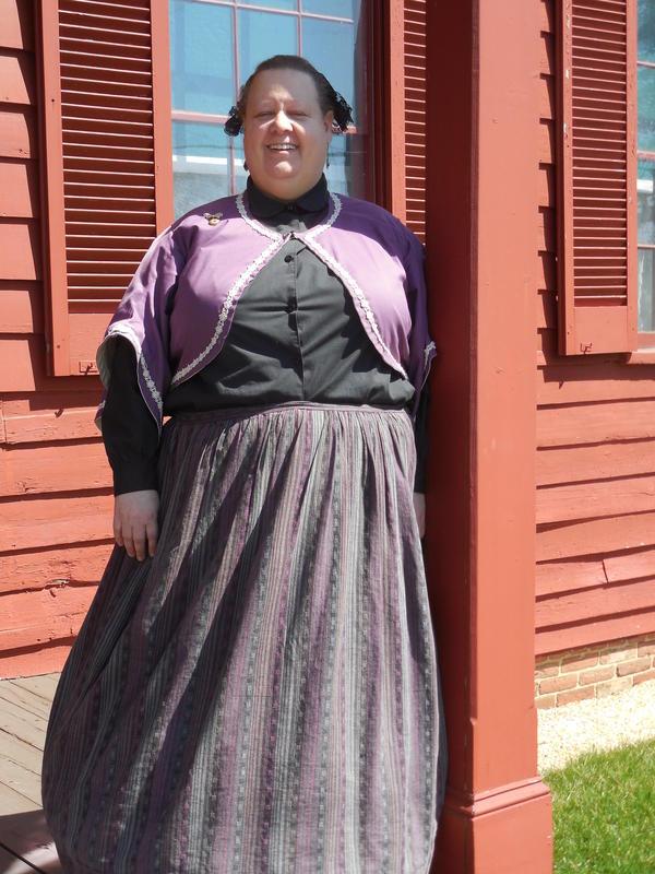 Susan Proctor at the Surratt House Museum