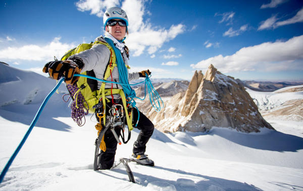 Melissa Arnot is preparing to summit Mount Everest wihtout the assistance of a Sherpa or supplemental oxygen. (Jon Mancuso Photography)