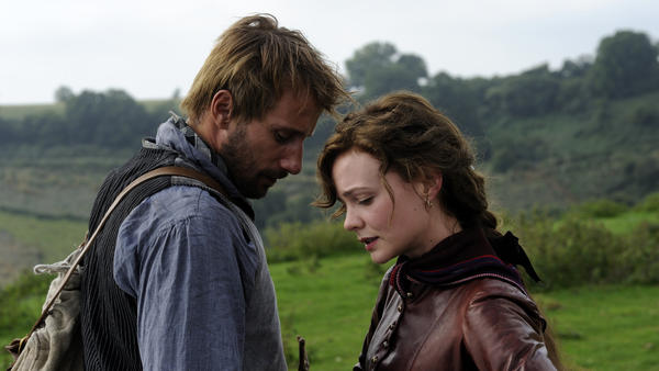 Matthias Schoenaerts and Carey Mulligan in <em>Far From The Madding Crowd.</em>
