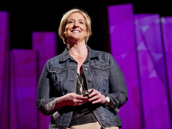 Brene Brown at TED2012.
