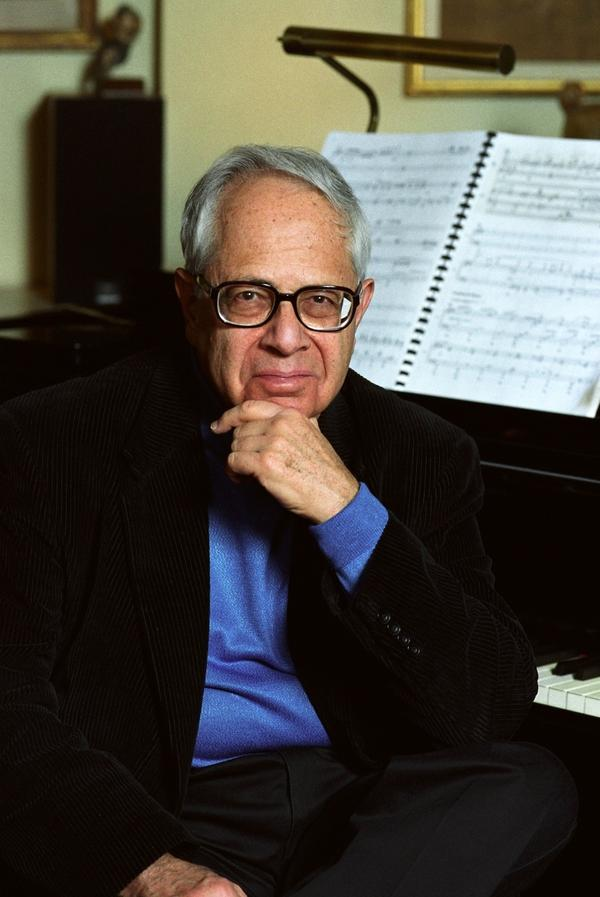 Pianist Gary Graffman, who turned 85 in October.