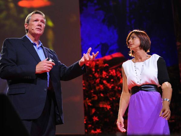 Todd Kuiken speaking at TED.