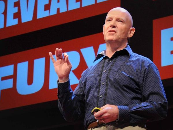 Julian Treasure speaking at TED.