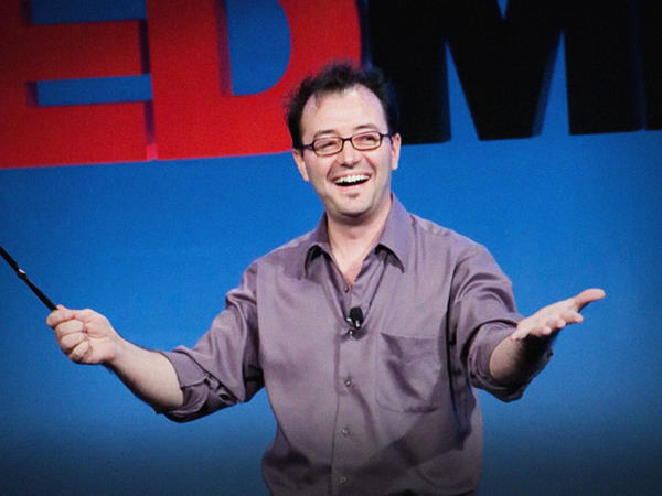 Eric Mead speaks at TED.