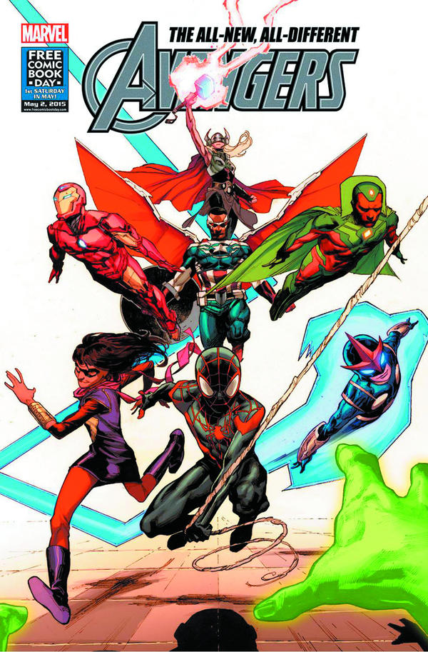 <em>All-New, All Different Avengers</em>
