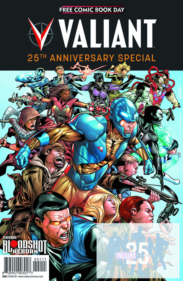 <em>Valiant: 25th Anniversary Special</em>