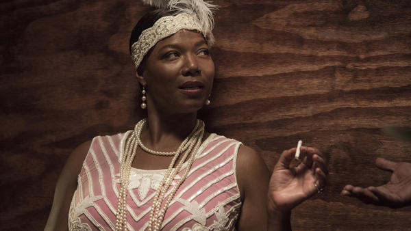 Queen Latifah plays blues singer Bessie Smith in the HBO movie <em>Bessie</em>.