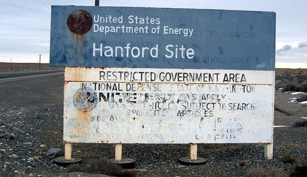 The Hanford Nuclear Reservation is home to 56 million gallons of radioactive sludge in aging underground tanks.