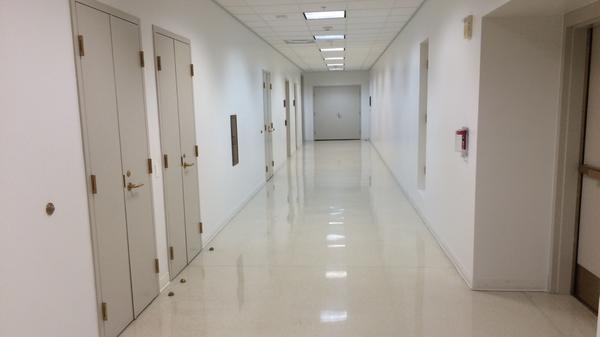 To study the draft Trans-Pacific Partnership language, senators have to go to the basement of the Capitol and enter a secured, soundproof room in this hallway and surrender their mobile devices.