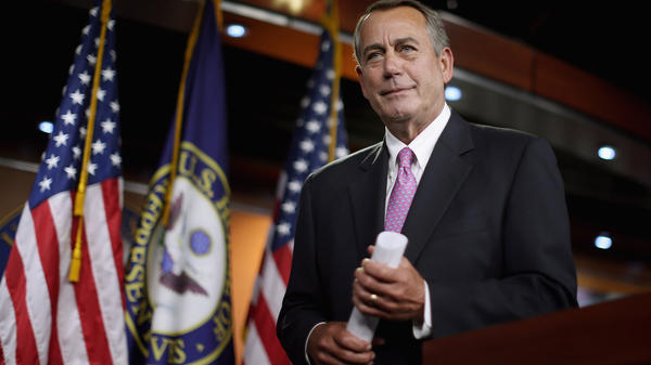 """""""That's a stupid question,"""" House Speaker John Boehner said after a reporter asked him about Democratic claims that the GOP had cut Amtrak funding to unacceptable levels."""