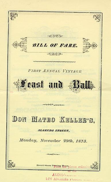 Don Mateo Keller, 1875.