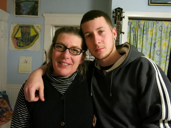 Nina Rossi, left, befriended Lance Rice, a recovering addict, after he robbed her house in 2013. Since last year, when this photo was taken, Rice had a relapse and a rift developed between the two.