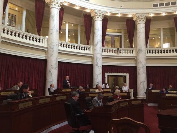 Idaho lawmakers adopted new federal rules on child support after a whirlwind 11-hour session Monday.