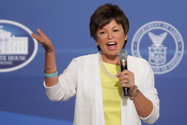 White House Senior Advisor Valerie Jarrett speaks during the White House Summit On Working Families at the Omni Shoreham hotel June 23, 2014 in Washington, D.C. (Chip Somodevilla/Getty Images)