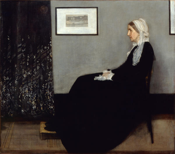 """James McNeill Whistler's mother — immortalized in his 1871 painting <em>Arrangement in Grey and Black No. 1: Portrait of the Artist's Mother — </em>worried about all the time and energy her son was pouring into the Peacock Room. """"A gentleman's house isn't an exhibition,"""" she told him."""