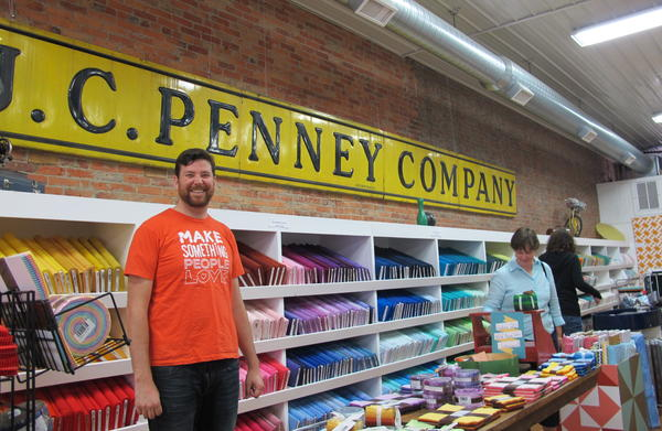 Alan Doan likes the fact that Missouri Star Quilt Co. is following in the footsteps of fellow Hamilton native J.C. Penney, but Doan's never been into an actual J.C. Penney store.