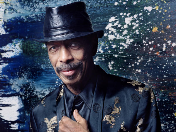 Saxophonist and composer Ornette Coleman.