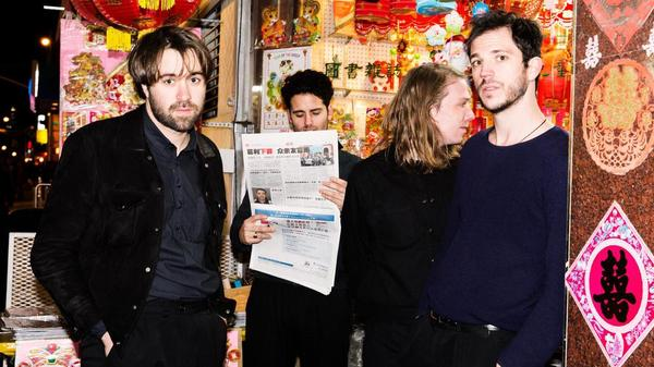 The Vaccines' new album, <em>English Graffiti</em>, comes out May 26.