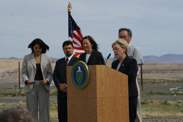 Cleanup at Hanford is a top issue for of U.S. Senator Patty Murray.
