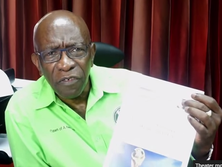 Former FIFA Vice President Jack Warner cites <em>The Onion</em> in his defense. Warner was one of 14 FIFA executives indicted last week on corruption charges.