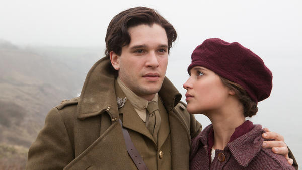 Kit Harington and Alicia Vikander in <em>Testament Of Youth</em>.