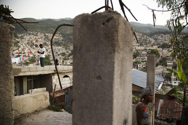 Today, Campeche, part of the larger Carrefour Feuilles neighborhood in Port-au-Prince, is where the Red Cross boasts one of its marquee housing projects.